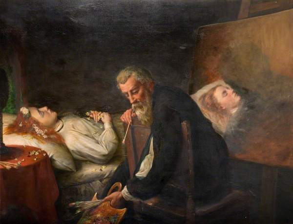 Tintoretto Painting His Dead Daughter