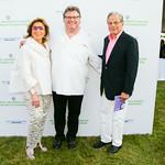 Marion Waxman, Chef David Burke, Dr. Samuel Waxman
