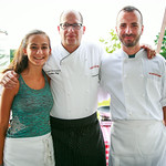 Izabella Rosenberg, Chef Russel Rosenberg, Chef Tivari (The Loeb Boathouse)