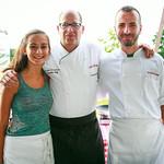 Izabella Rosenberg, Chef Russel Rosenberg, Chef Tivari (The Loeb Boathouse)