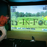 Chevron Stemzone Tent Golf Simulator