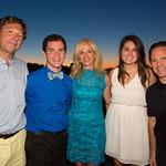 Scott Vallary, Christian Skidgel, Ann Liguori, Madison Skidgel, Dan Liguori