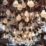 Lightbulbs at John Varvatos East Hampton Boutique