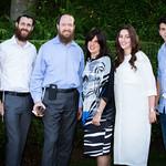 Mendel Goldman, Musia Baumgarten, Tziro Goldman, Shmuly Goldman, Zeesy Greenbaum, Kivi Greenbaum
