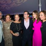 Chef Geoffrey Zakarian, Fern Mallis, Katie Couric, Dr. Howard Sobel, Gayle Sobel, Rosanna Scotto