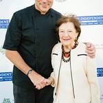 Chef Todd English, Ruth Finley