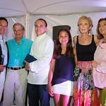 Robert Kantor, Dr. Samuel Waxman, Chef Jean-Georges, Mary Kantor, Adrienne Kantor, Marion Waxman