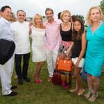 Robert Kantor, Chef Jean-Georges, Ramona Singer, Mario Singer, Adrienne Kantor, Mary Kantor, Pamela Morgan