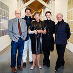 David White, Anthony Gammardella, Jennifer Bartlett (Featured Artist), Terrie Sultan (Parrish Director), Douglas Baxter