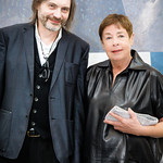 Klaus Ottmann (Curator of Show), Jennifer Bartlett (Featured Artist)