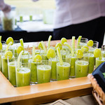 Cold Green Gazpacho - Distinctive Catering