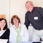MaryAnn McGinley, Kathy McGrath, Tom Hughes