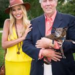 Beth Ostrosky Stern, Jonathan McCann (Board President of Southampton Animal Shelter)