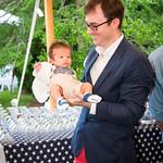 Mark Halsey holding Henry