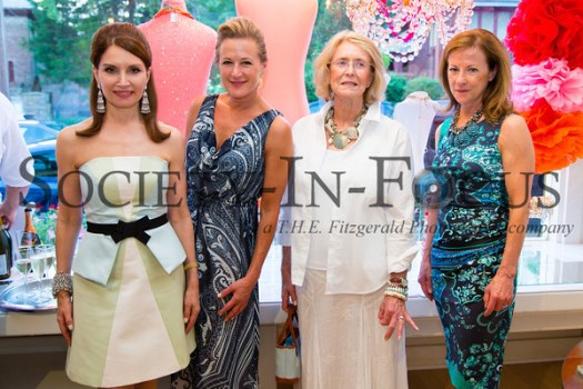 Jean Shafiroff, Kim Dryer, Susan Allen, Linda Renk
