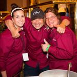 Lauren Battista, Chef Nader Gebrin, Kim Rico - Bravo! Nader Restaurant