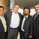 Sanjay Goyal, Tony Piscopio, Gary Sikka, Dominic Stanco