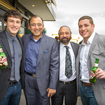 Matt Brisco, Atul Kumria (Head of Sales, Kingfisher), Gary Sikka (Owner & Executive Chef, Mint Restaurant), Ryan Gallagher