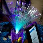 Fiber Optic Centerpiece