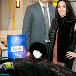 Chris Kyrou, Elizabeth Kyrou with Dimitri Fine Furs and Leather