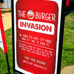 Amstel Light Burger Invasion