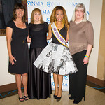 Leslie Maier, Lynn Bozof, Daisi Sepulveda (Mrs. Ethnic World International 2012), Lori Buher