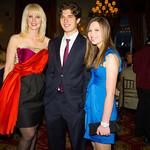 Sara Herbert-Galloway, Justin Galloway (NMA Teen Health Advocate), Alana Galloway (NMA Teen Health Advocate)