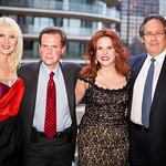 Sara Herbert Galloway, Frank Recchia (News 12 CT), Lorraine Cancro, Roy Abromowitz