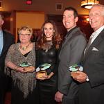 Honorees Senator Jack Hart, Cindy Krejny, Samantha Busch, Kyle Busch, and Dr. William Schaffner