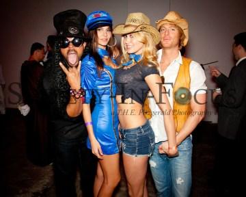 Slash, Flight Attendant, Cowgirl, Cowboy