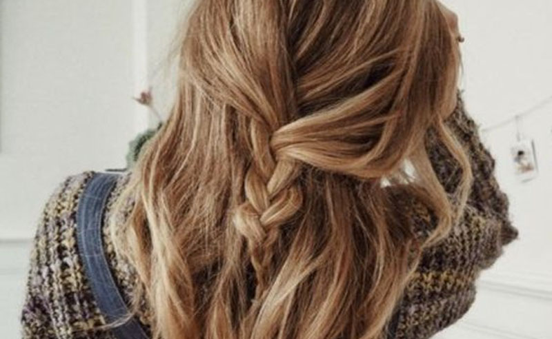 10 Lavish Wedding Hairstyles For Long Hair: 10 Cute Lazy Girl Hairstyles To Try