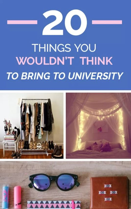 20 Things You Wouldn't Think To Bring To Uni