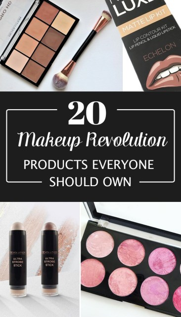 Makeup Revolution makeup products everyone should own!