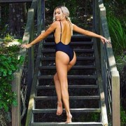 A black swimming costume is the perfect swimsuit because it's so flattering even if it's plain! Here are cute black swimming costumes that are affordable!