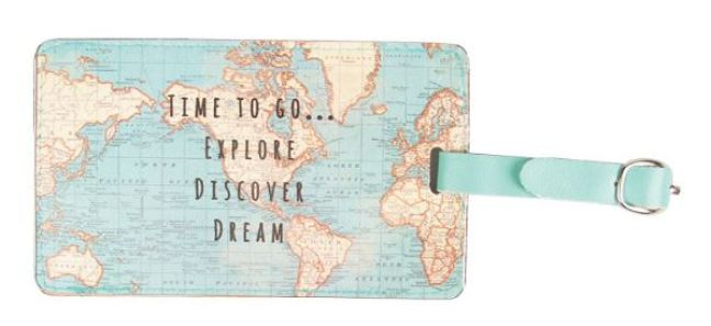 10 cute and cheap luggage tags from amazon and etsy society19 uk vintage world luggage tag from amazon would be a must have in your collection if its time for you to go explore discover and dream then this tag gumiabroncs Gallery