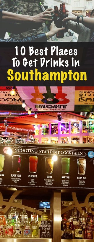10 Best Places To Get Drinks In Southampton
