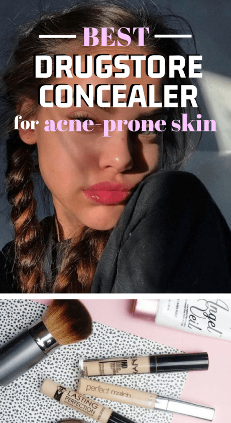 Here's The Best Drugstore Concealer For Acne Prone Skin