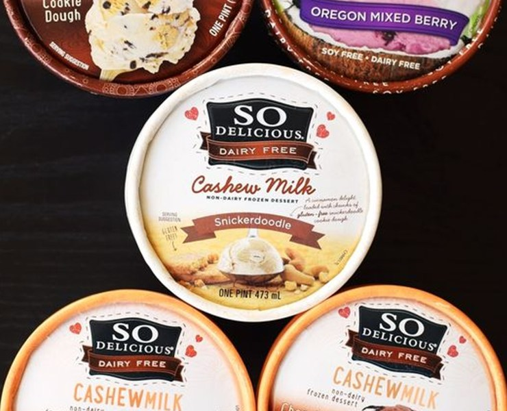 These dairy free products could totally pass as if they had milk in them. The products range from milk, ice cream, cheese, and everything in between! If you're gluten free, soy free, or lactose intolerant, then these products are for you!