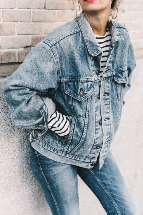 Take a look at these oversized denim jackets!