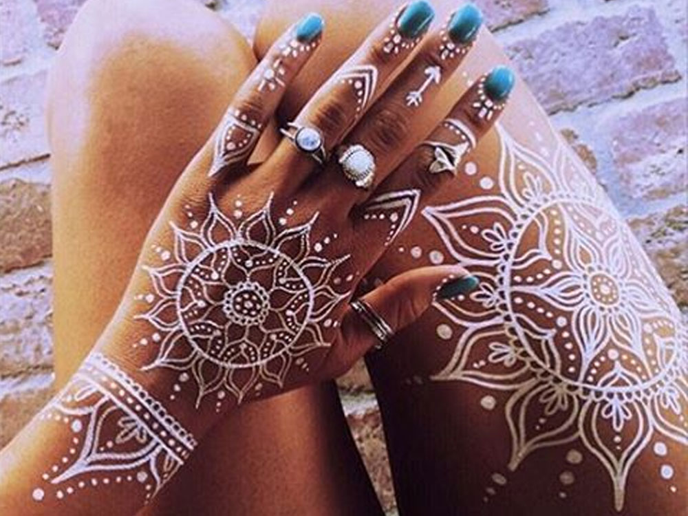 Henna Mehndi Tattoo Designs Idea For Wrist: We Are Loving These Henna Sleeve Tattoo Ideas