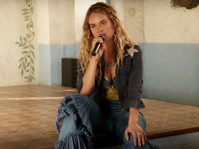 how to recreate lily james' outfits in 'mamma mia 2