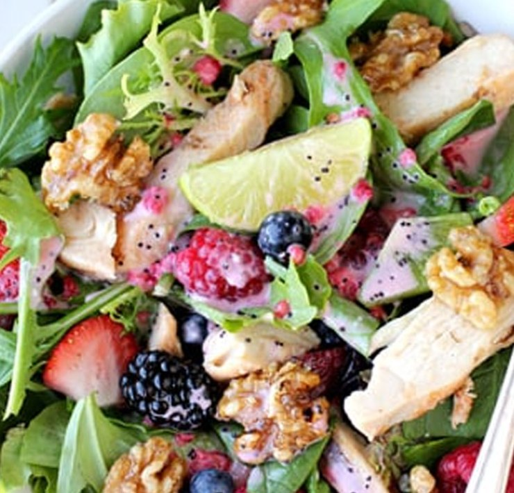Here is how to make a salad clean and healthy while still tasting delicous. Eating healthy can be tough, with these tips everything will taste like a treat!