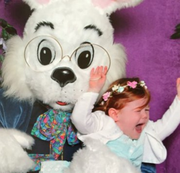10 Horrifying Easter Bunny Pictures You Won't Believe