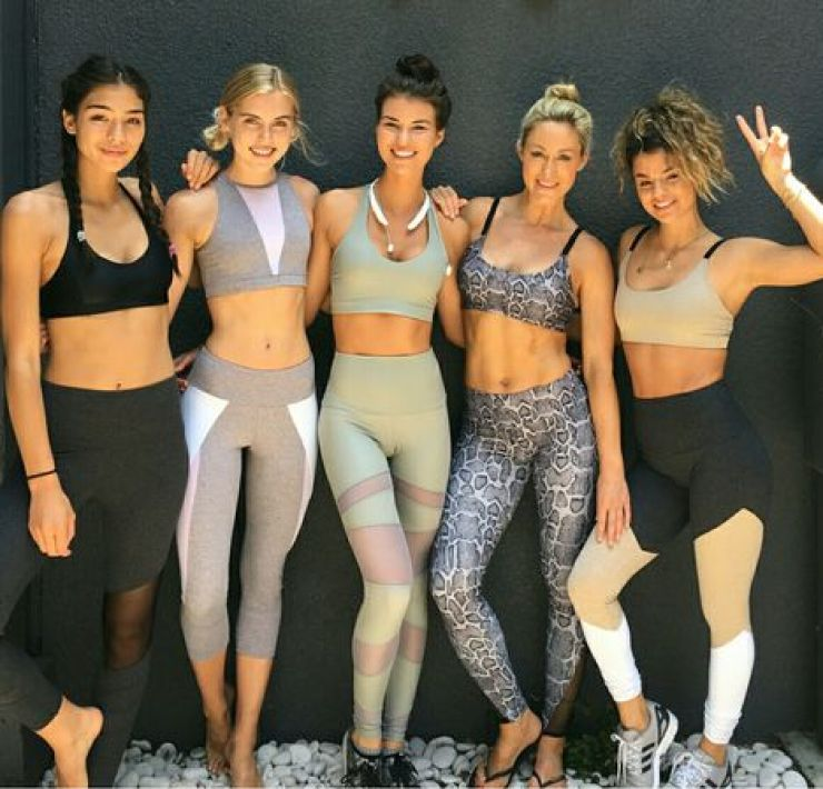 Gym clothes became an attire acceptable in other places than only at the gym. Check out these ones and see for yourself!!