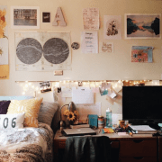 Looking for tricks to make your dorm room feel more spacious and make the most of the small living quarters that you have at college?