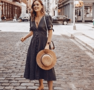 Need some new midi dress style inspo and don't know where to start? Check out these 10 midi dresses we're totally obsessing over!