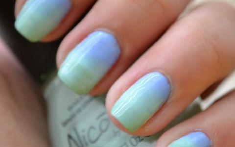 A fun way to get involved in the trend! DIY ombre nails are simple, fashionable, and cheaper than going to a nail salon for a manicure.