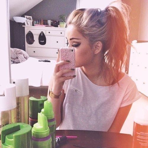 All you will need to create this look are a few bobby pins, a hair elastic, and some hairspray! Read on to learn how to make one of the best ponytails!