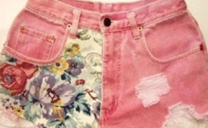DIY floral shorts, How To Make A DIY Floral Shorts Pocket