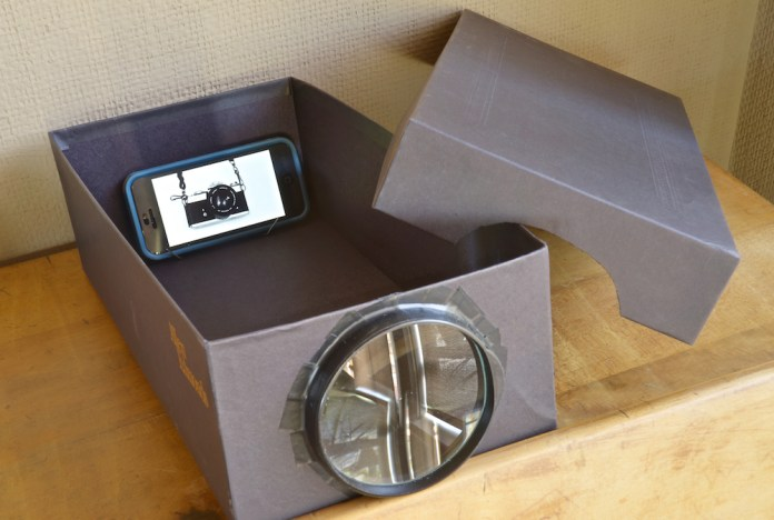 Using everyday household objects, craft this crazy cool smartphone projector! Amazing for a movie night with your friends!